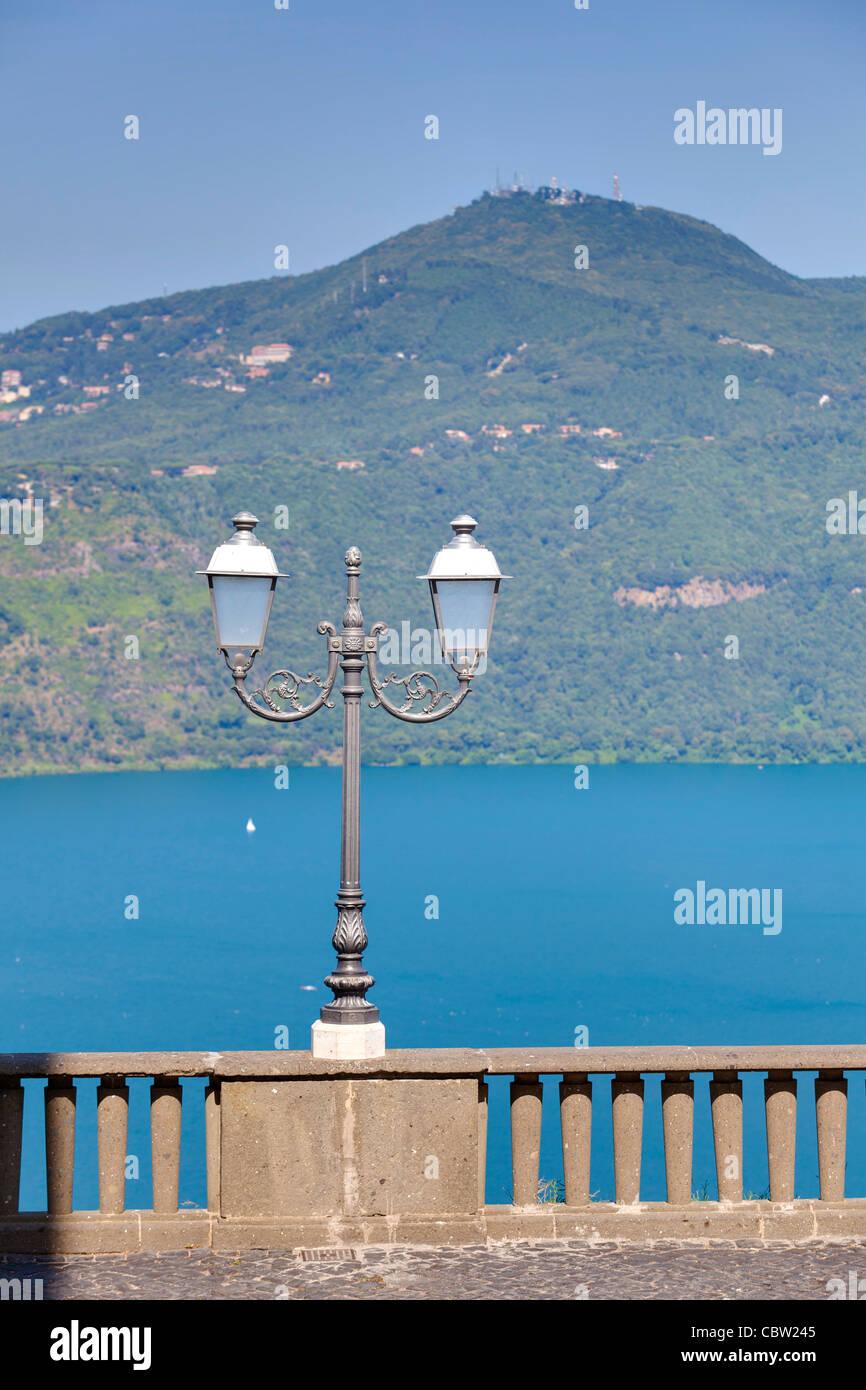 Lago di Castel Gandolfo Imagen De Stock