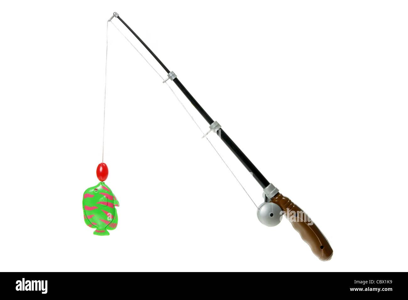 Juego de pesca de juguete Imagen De Stock