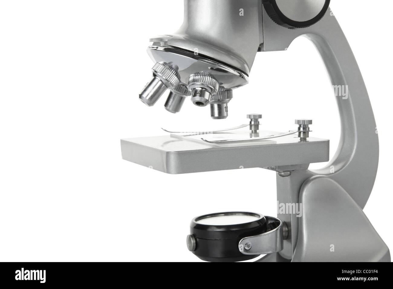 Microscopio Imagen De Stock