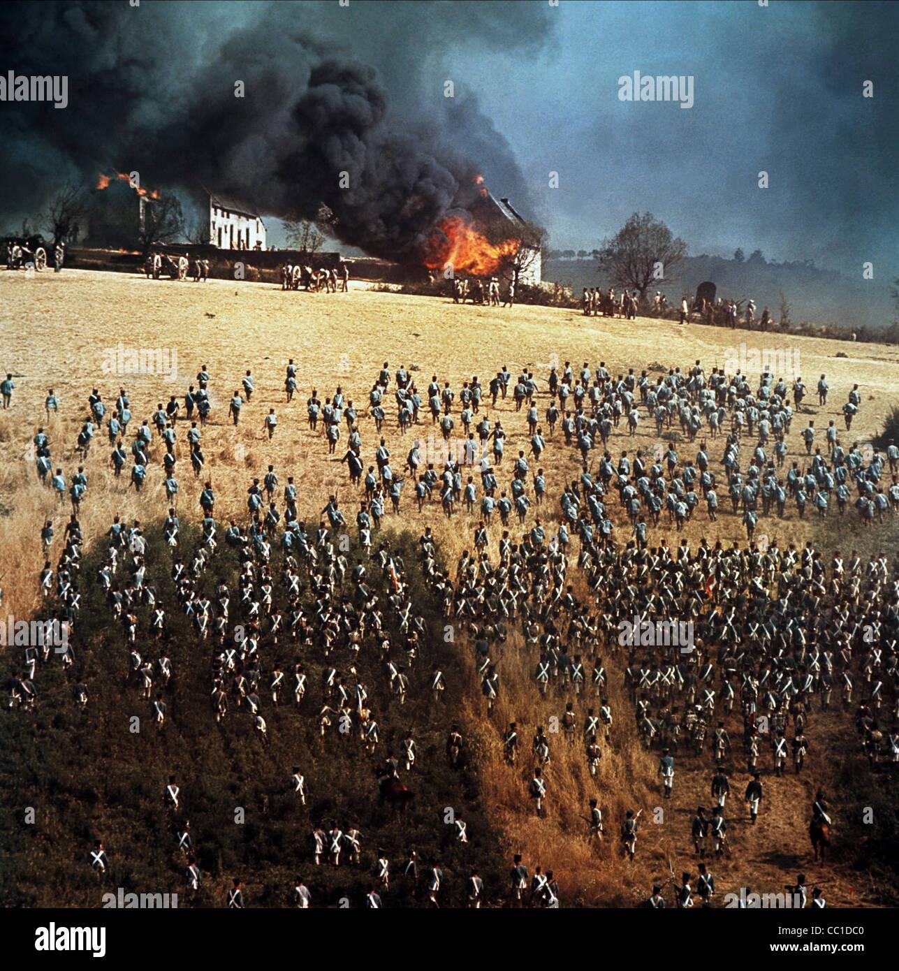 Campo de Batalla de Waterloo (1970) Imagen De Stock