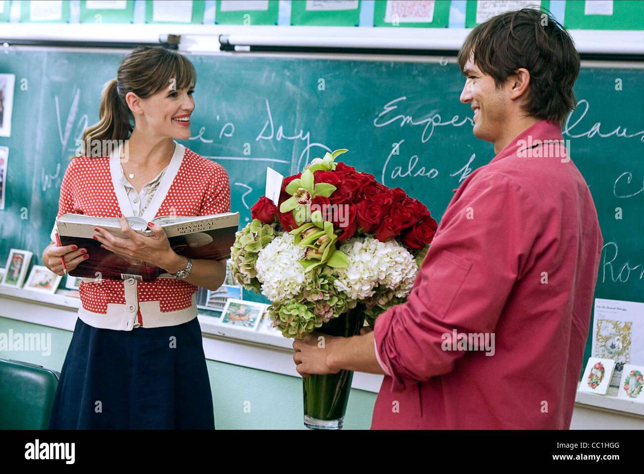 JENNIFER Garner y Ashton Kutcher EL DÍA DE SAN VALENTÍN (2010) Imagen De Stock