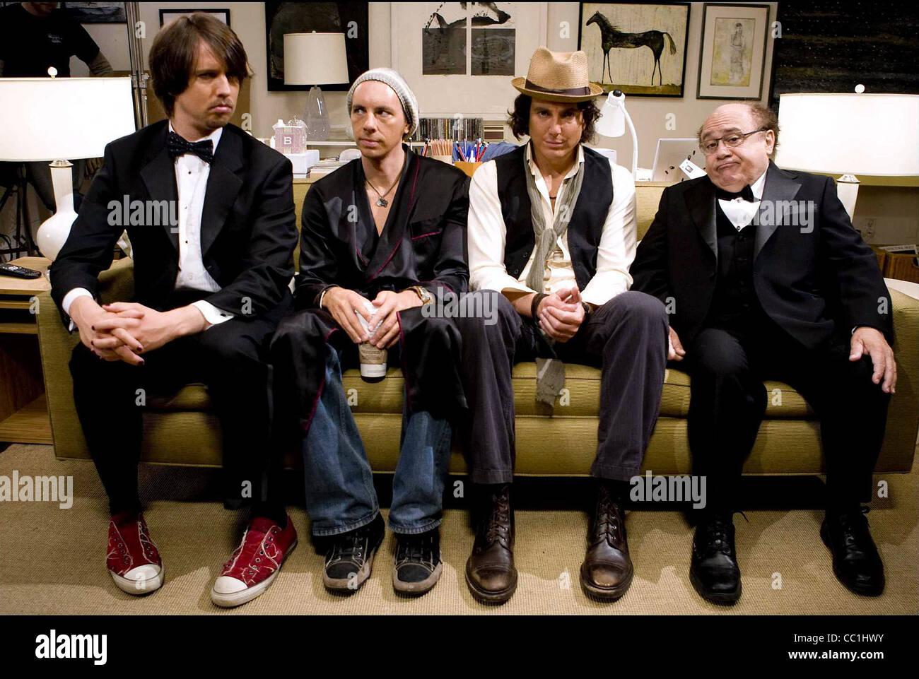 HEDER,SHEPARD,ARNET,DEVITO, CUANDO EN ROMA, 2010 Foto de stock