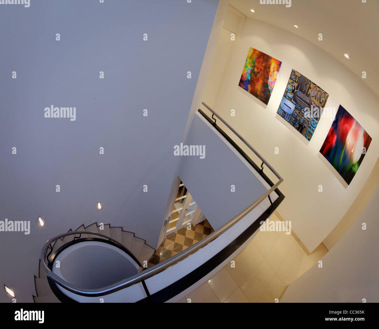 Arquitectura: Galería Privada Display (Alemania/Bad Toelz) Imagen De Stock