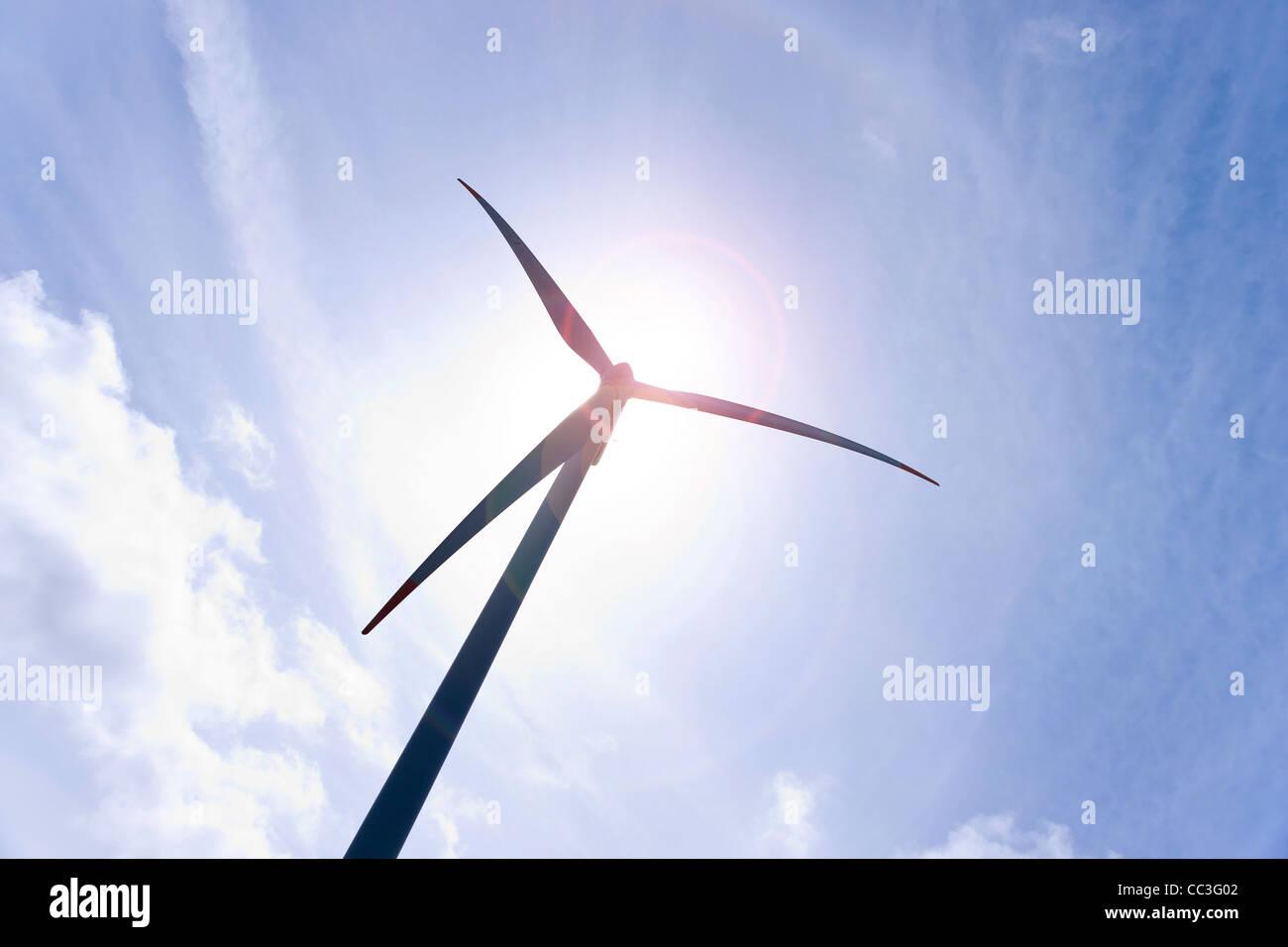 La energía eólica Imagen De Stock