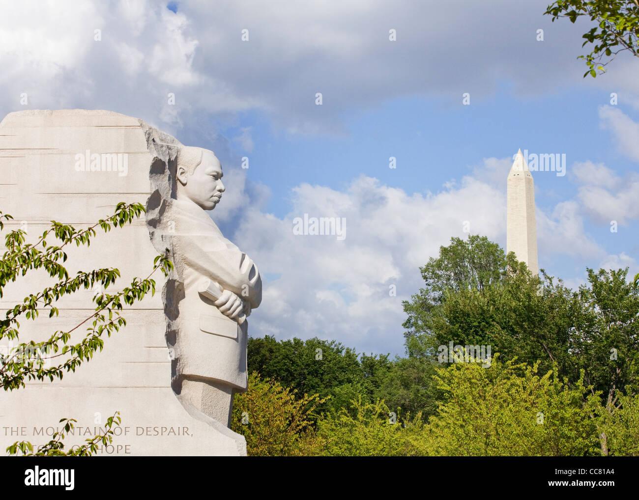 Martin Luther King Jr. Memorial Foto de stock