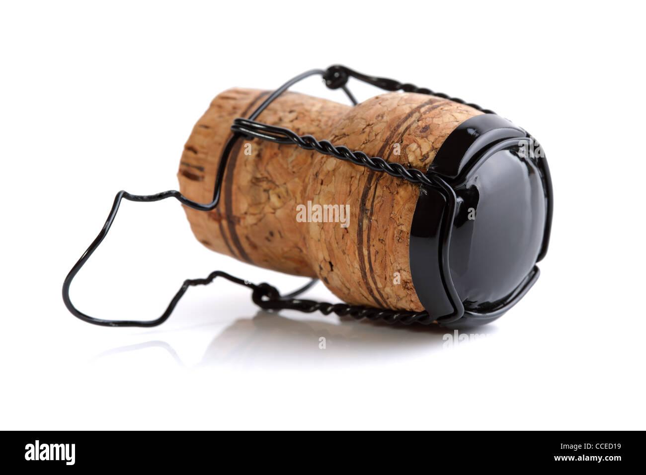 Corcho del champán Imagen De Stock