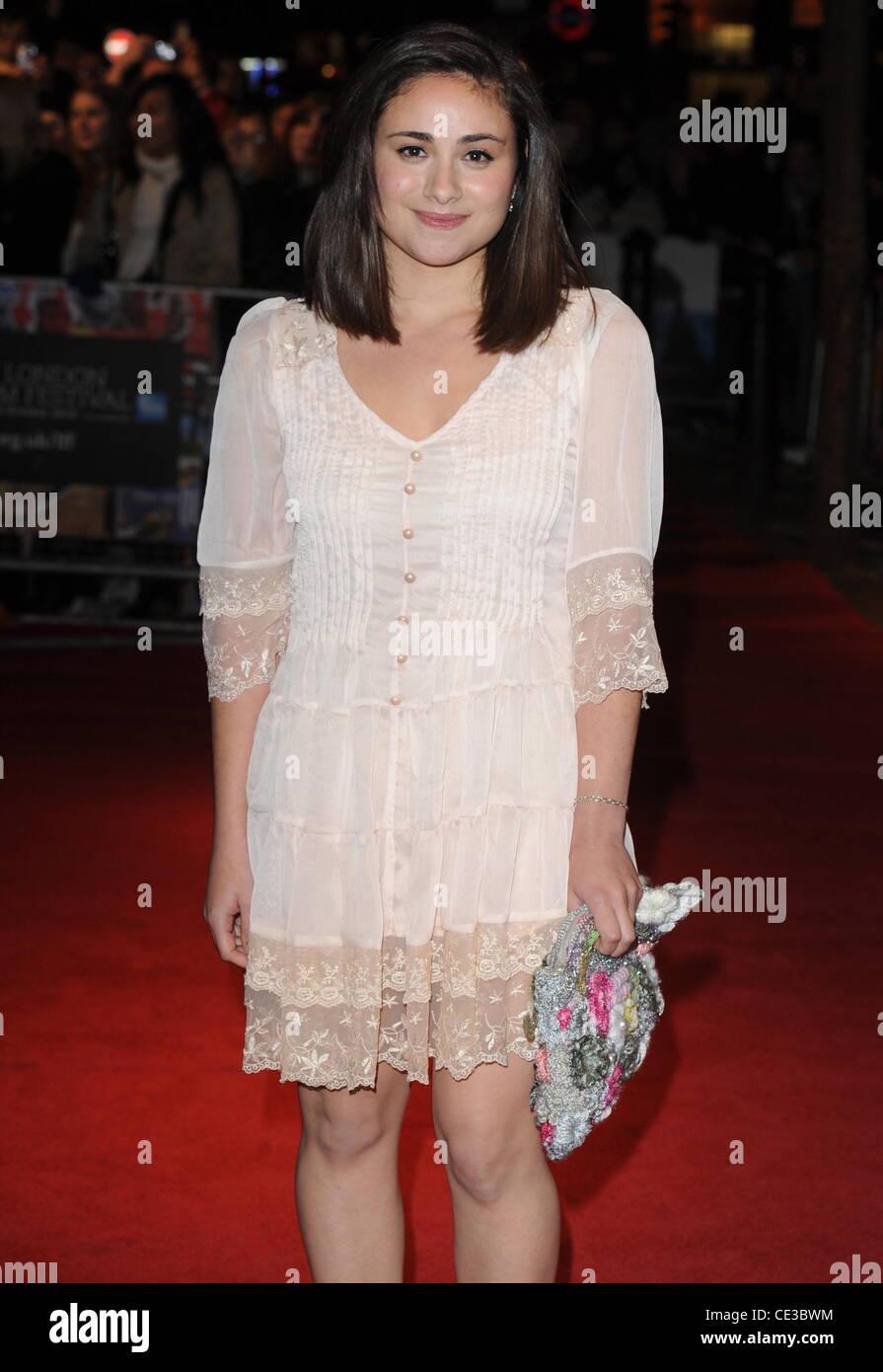 """Yasmin Paige 54º bfi London Film Festival: """"submarino"""", celebrado en el Vue West End - Llegadas de Imagen De Stock"""