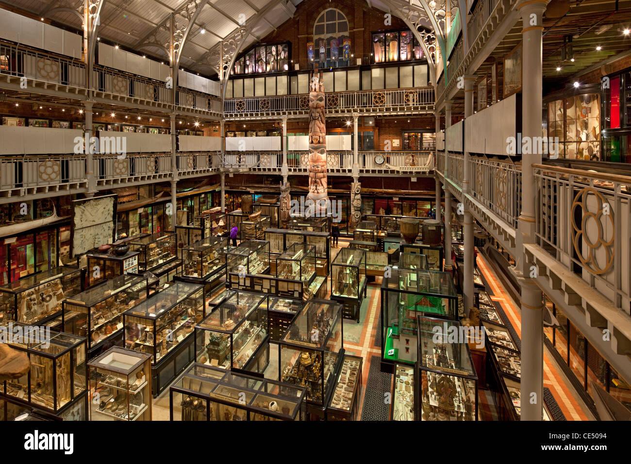 El museo Pitt Rivers, Oxford, Inglaterra Imagen De Stock