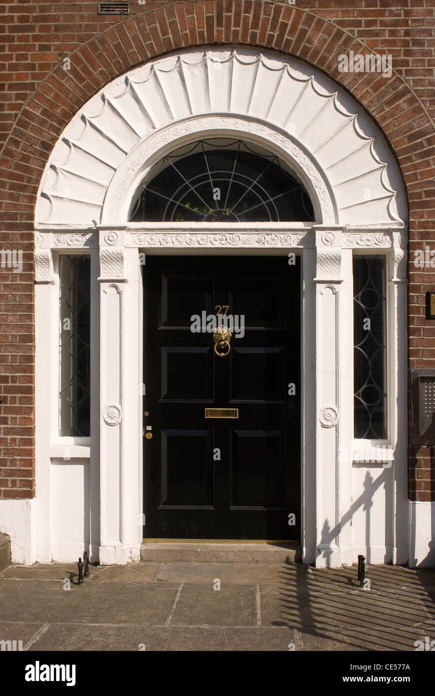 La arquitectura georgiana, Dublín, Irlanda Imagen De Stock