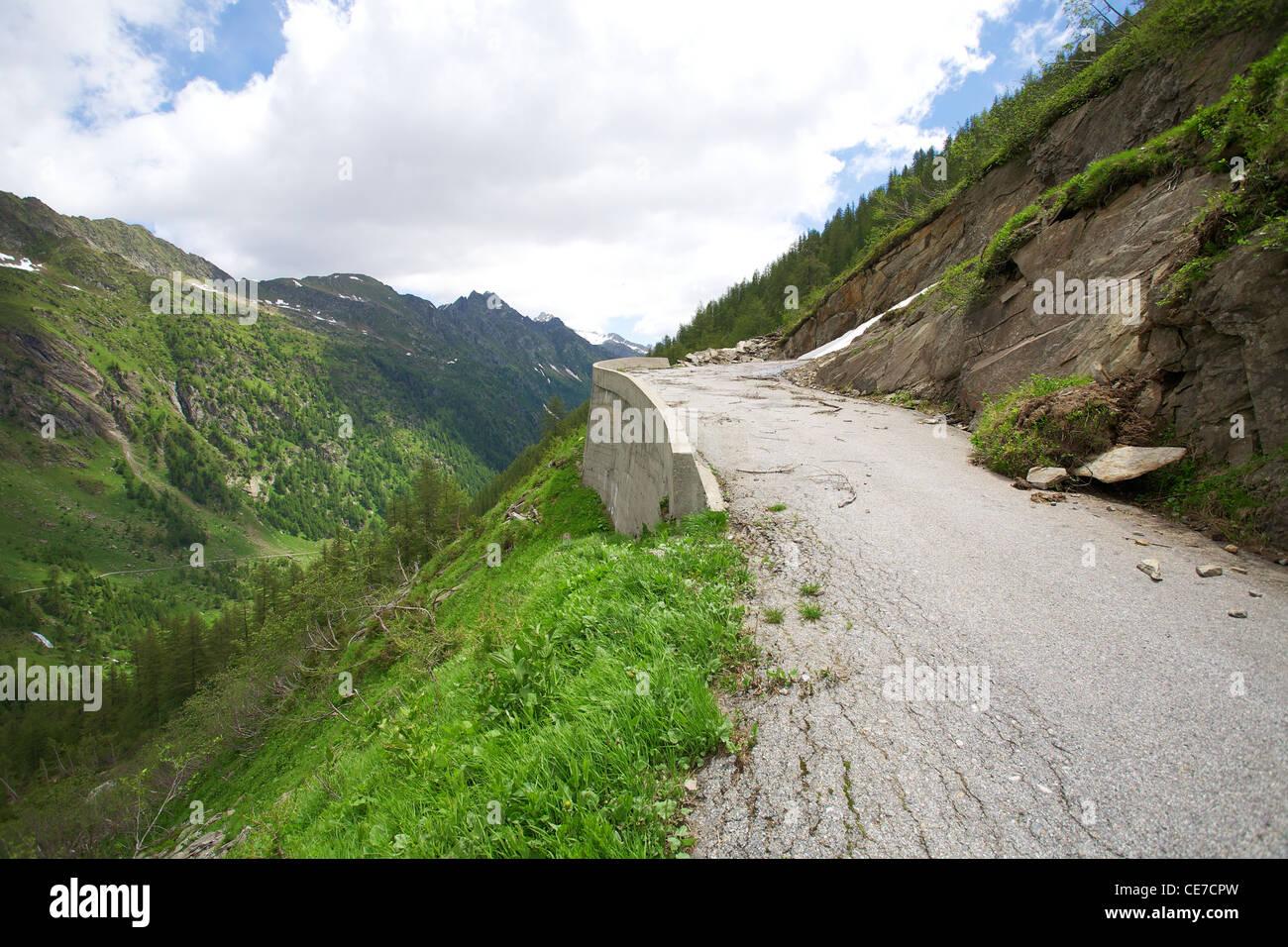Alpes en Suiza Foto de stock