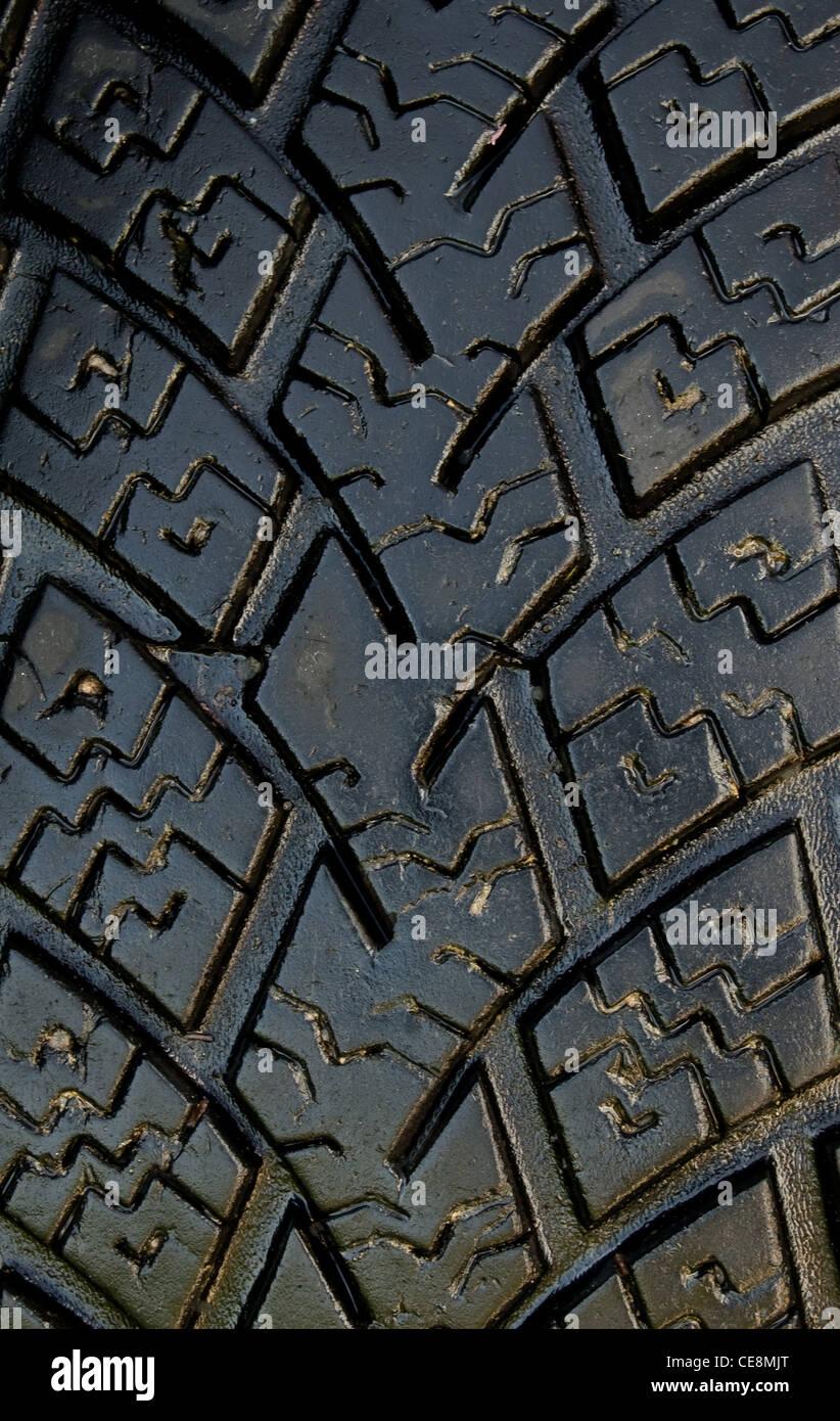Nuevo, neumáticos de verano de alto rendimiento Foto de stock