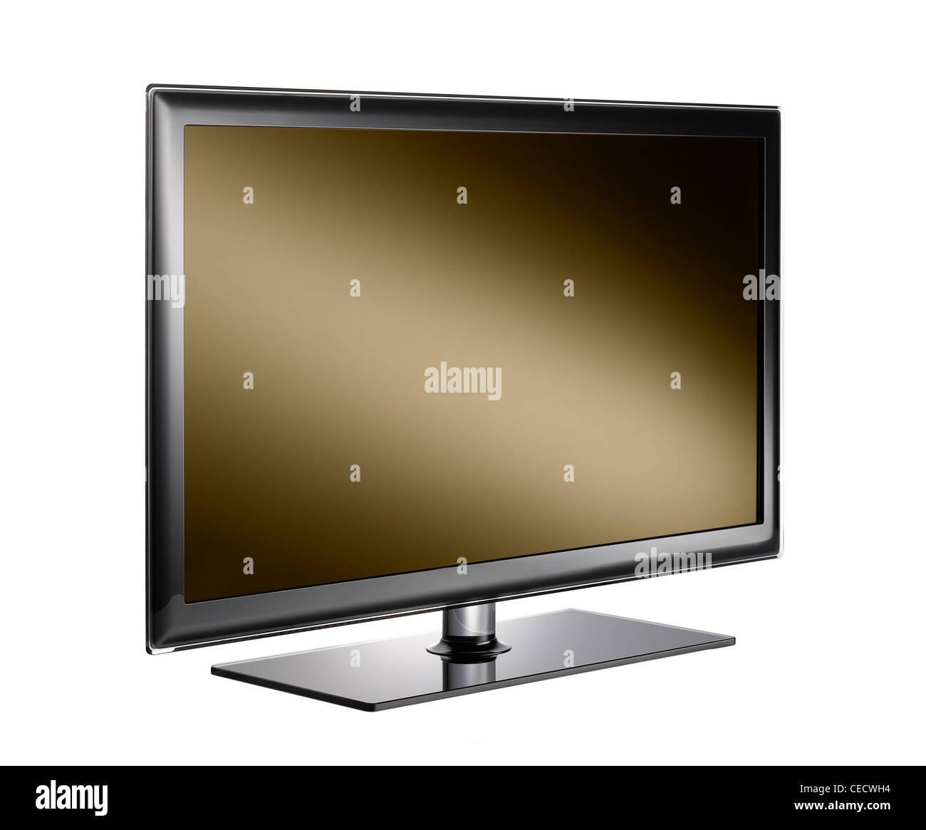 Un recorte de una televisión Imagen De Stock