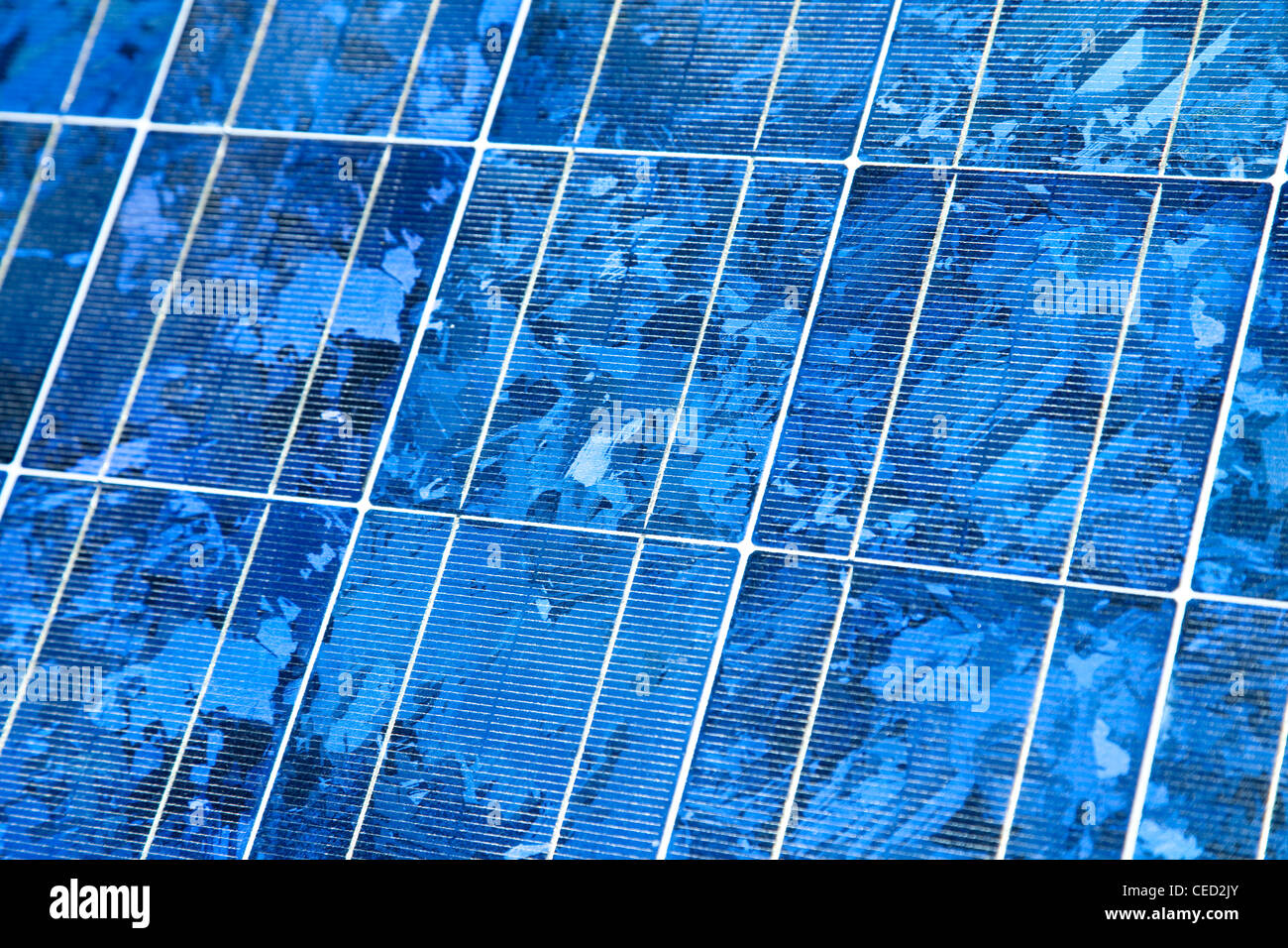Panel solar, close-up - Photovoltaik Modul, Nahaufnahme Imagen De Stock