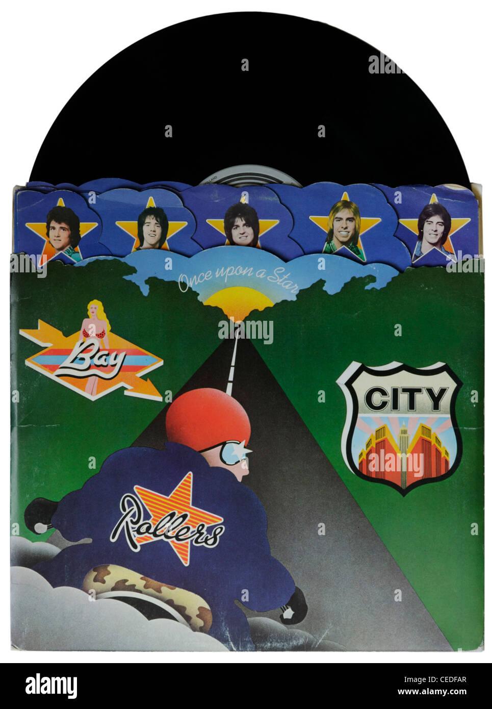 Érase una estrella por el Bay City Rollers Imagen De Stock