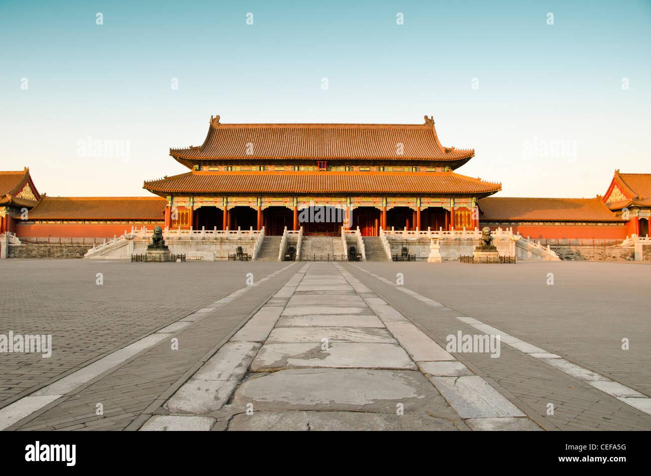 La Ciudad Prohibida (Palacio Museo) en Beijing, China Imagen De Stock
