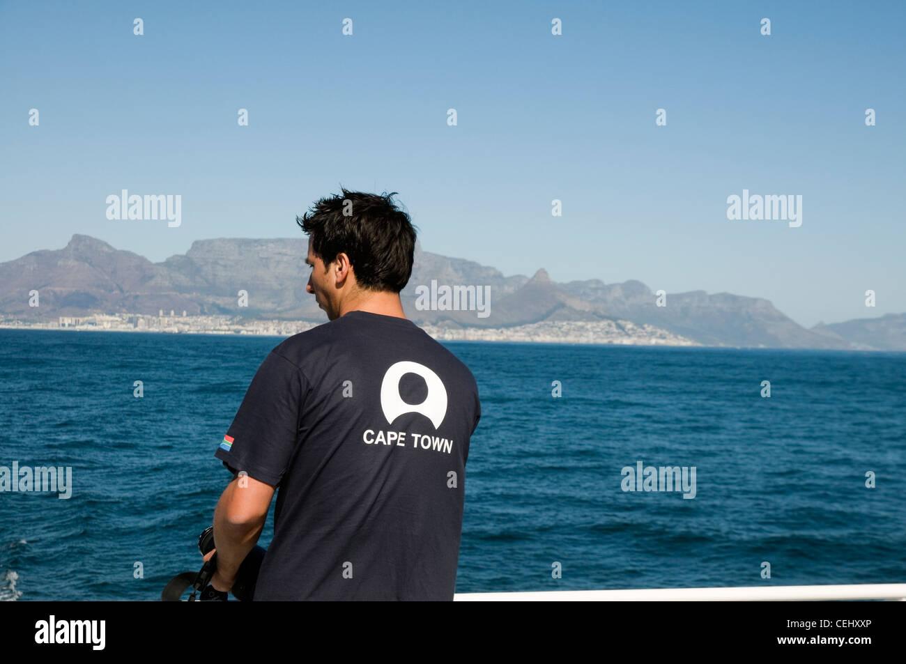 Ferry a la Isla Robben,Cape Town,Provincia de Western Cape Foto de stock