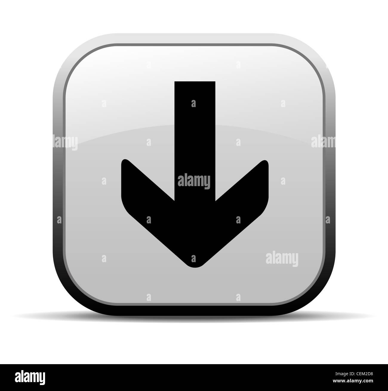 777294b8c91db Descargar Internet icono de botón Foto   Imagen De Stock  43466900 ...