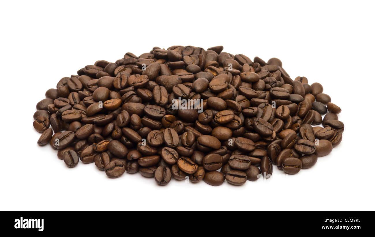 Granos de café Imagen De Stock