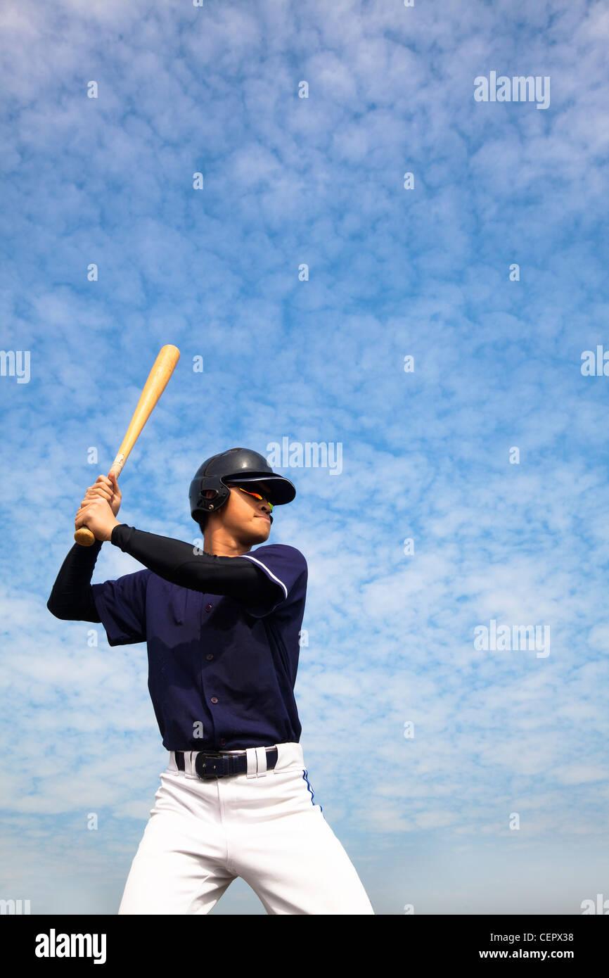 jugador del béisbol Foto de stock