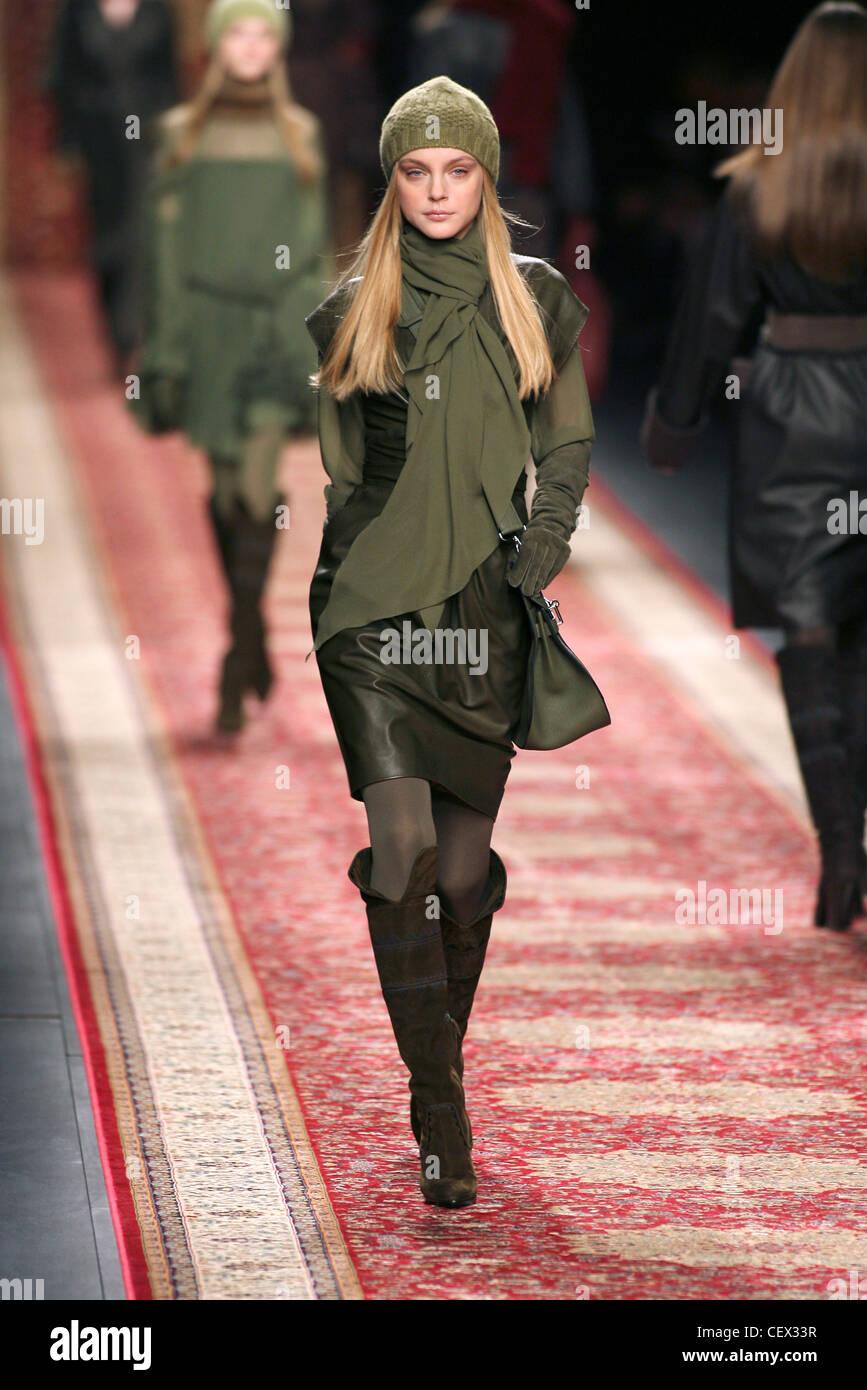 Hermes Paris listo para llevar el modelo de otoño invierno vestidos ...