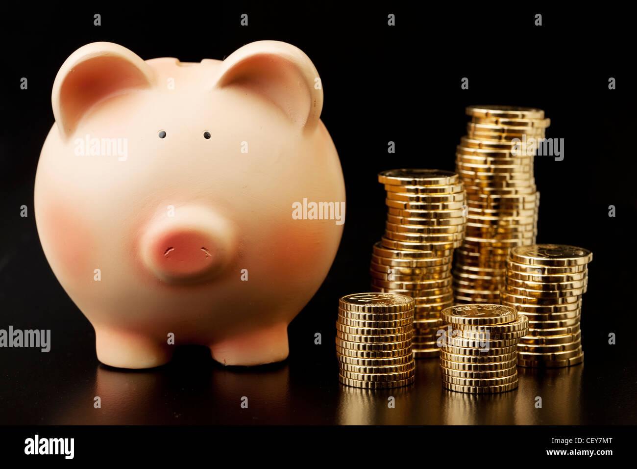 ahorrar dinero Imagen De Stock