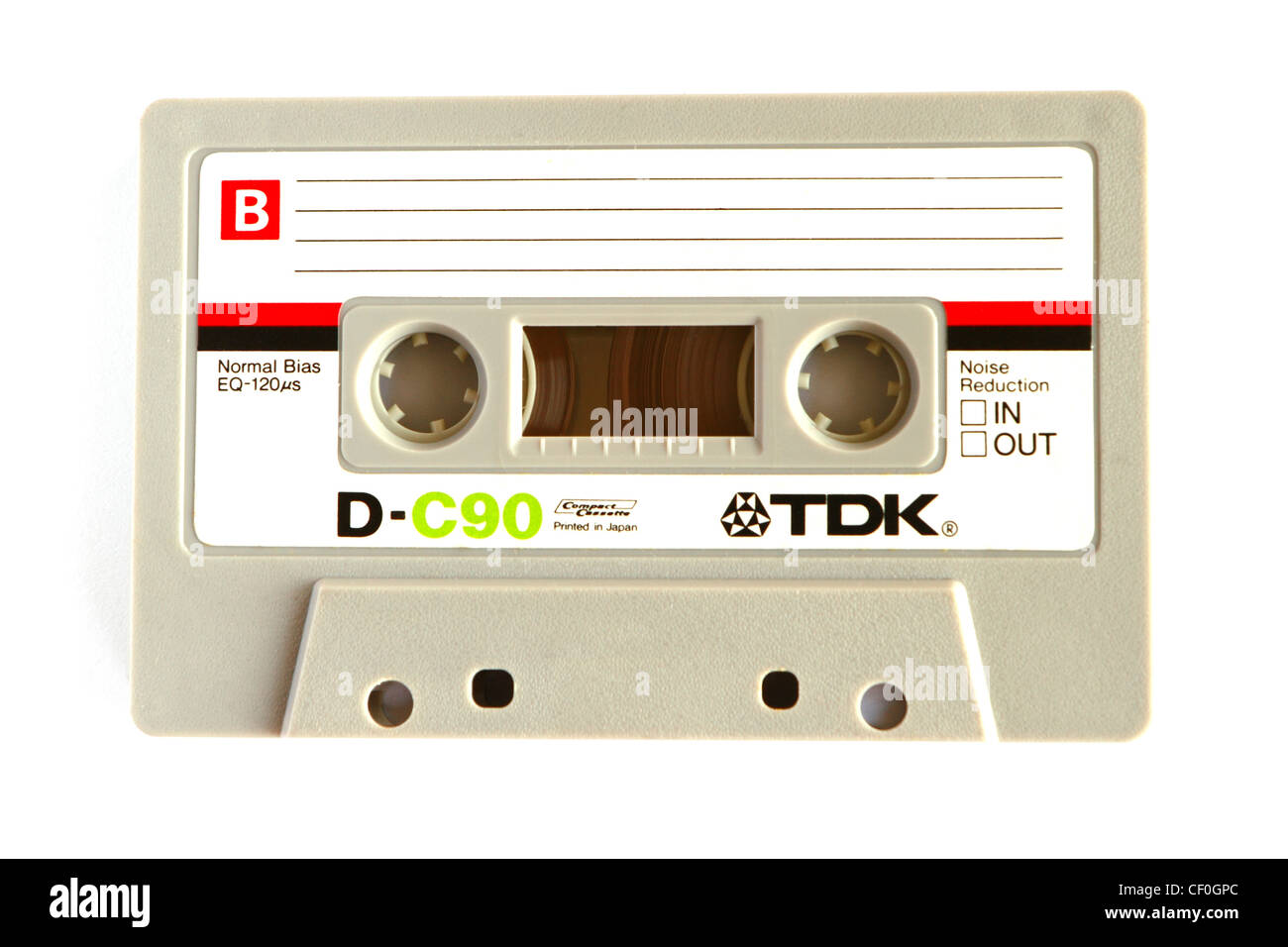 TDK C90 Cinta de casete de audio Imagen De Stock