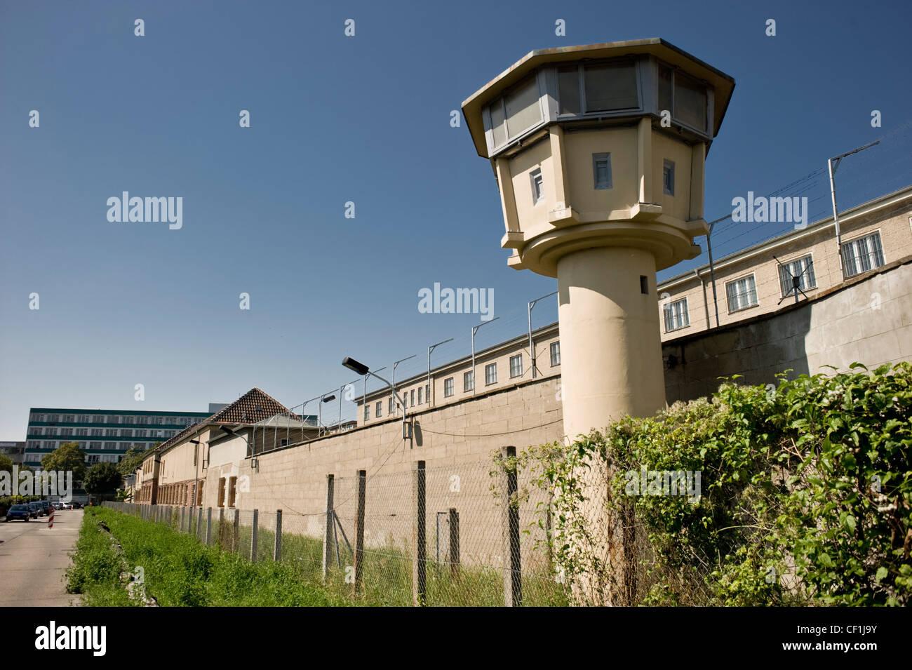 La STASI-cárcel. Campamento especial de la ex Unión Soviética y la prisión preventiva del Ministerio Imagen De Stock