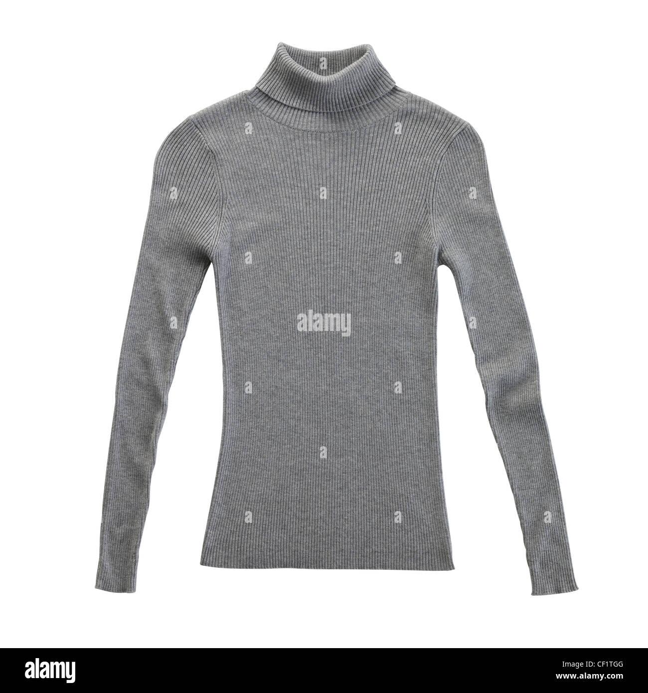 Un bodegón shot de un gris o gris señoras blusa Imagen De Stock