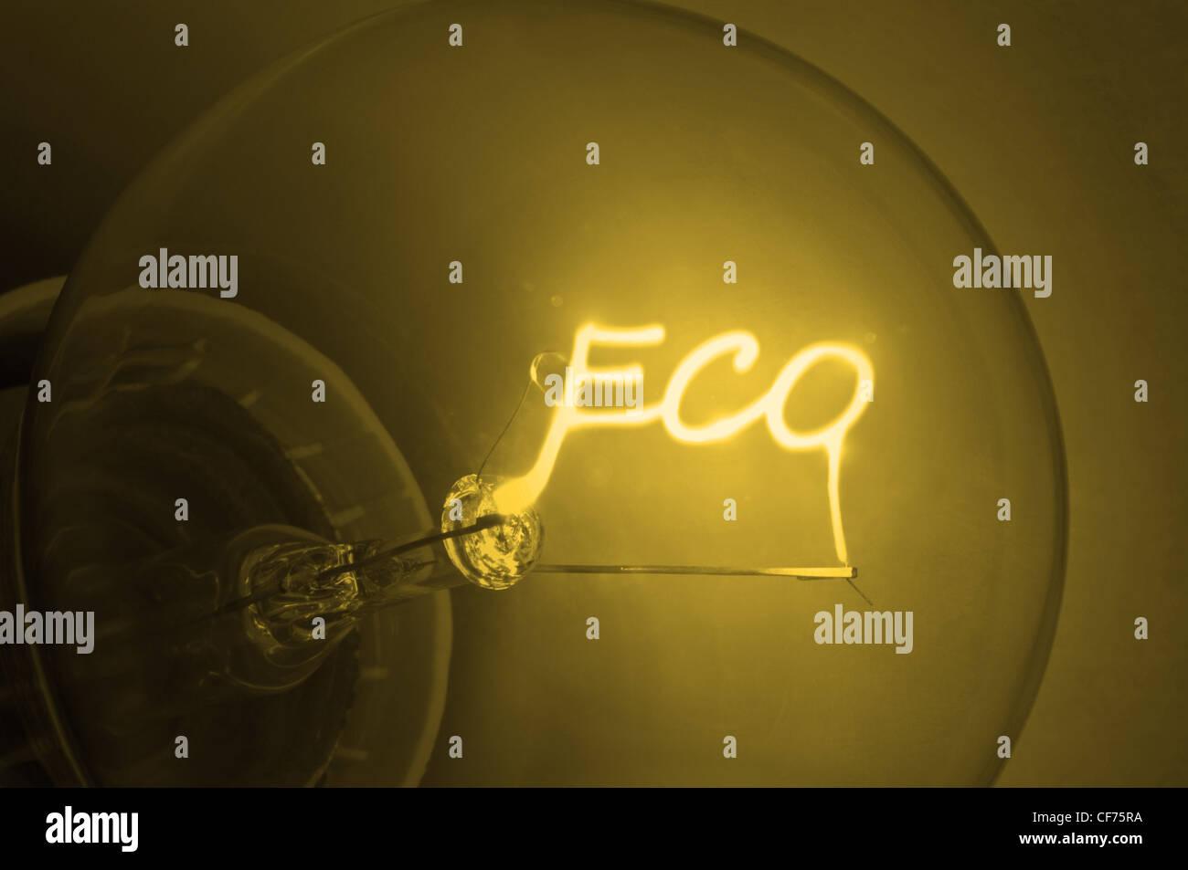 Concepto de energía. Imagen De Stock