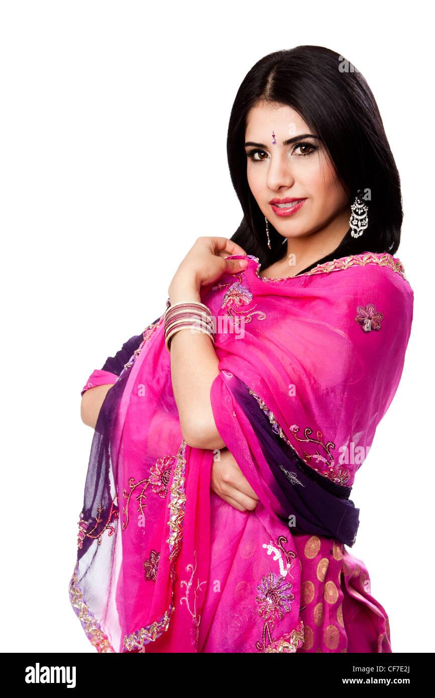 Bengali Sari Imágenes De Stock & Bengali Sari Fotos De Stock - Alamy