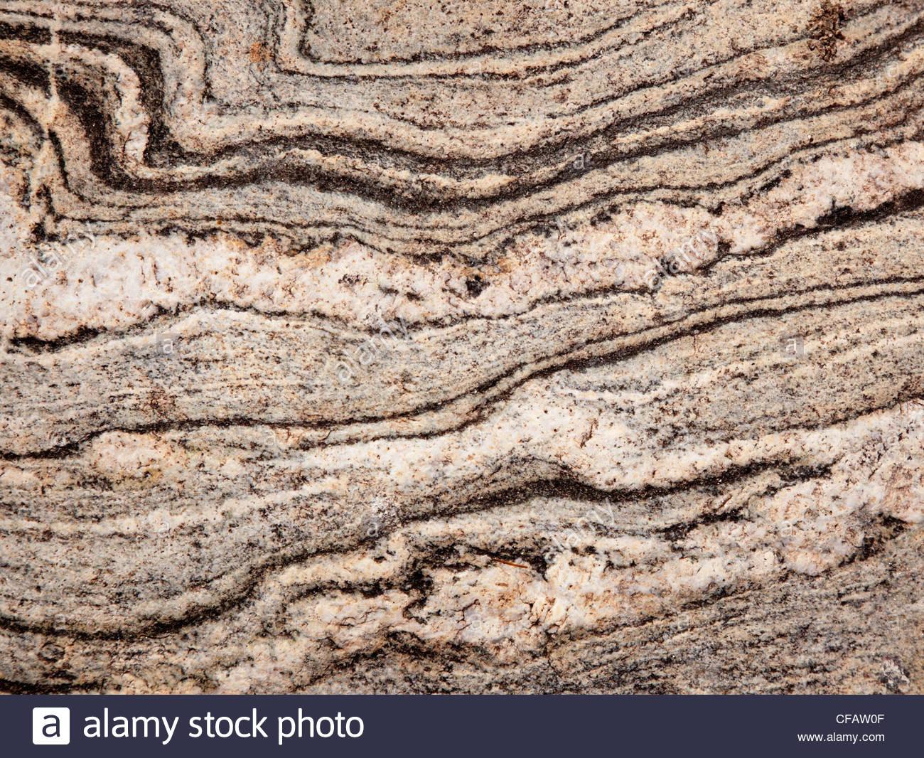 Textura natural de Arizona de fondo con bandas de rock Imagen De Stock