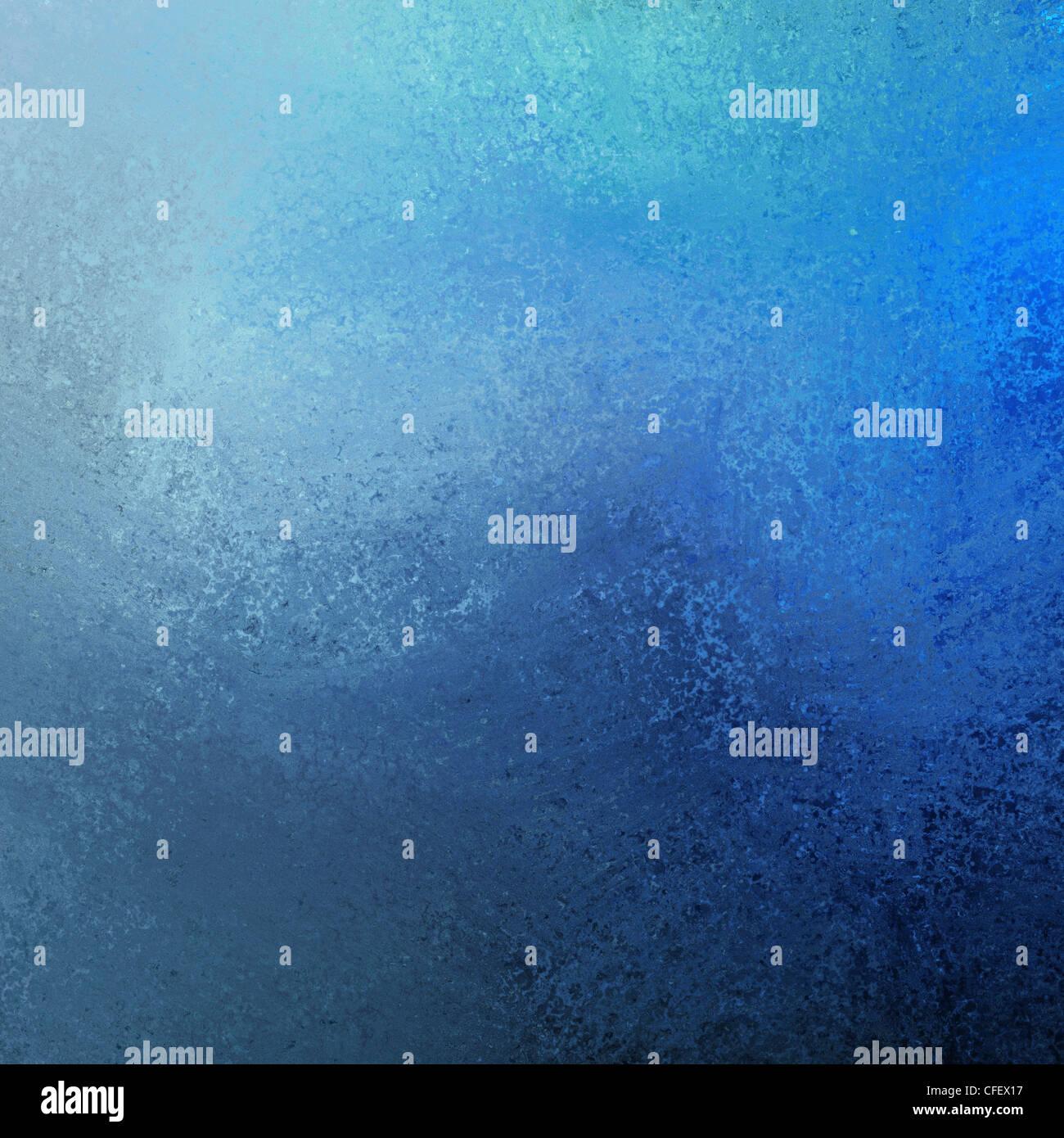 Artístico de pintura azul ilustración con fondo oscuro y contraste de luz color Imagen De Stock