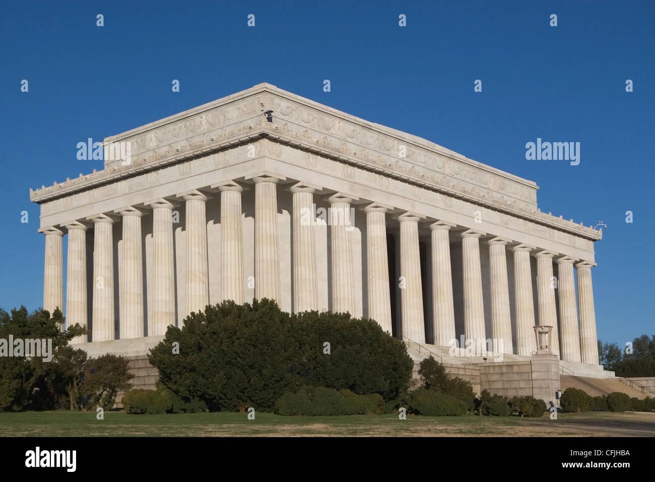 El Lincoln Memorial, Washington DC, EE.UU. Imagen De Stock