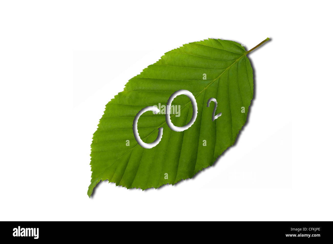 Dióxido de carbono Imagen De Stock