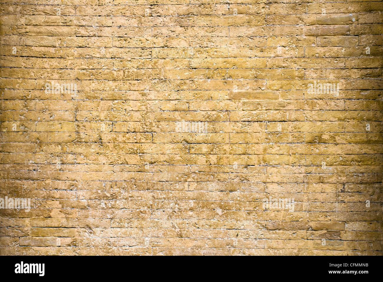 El antiguo muro de ladrillos, Italia , Vaticano. Imagen De Stock