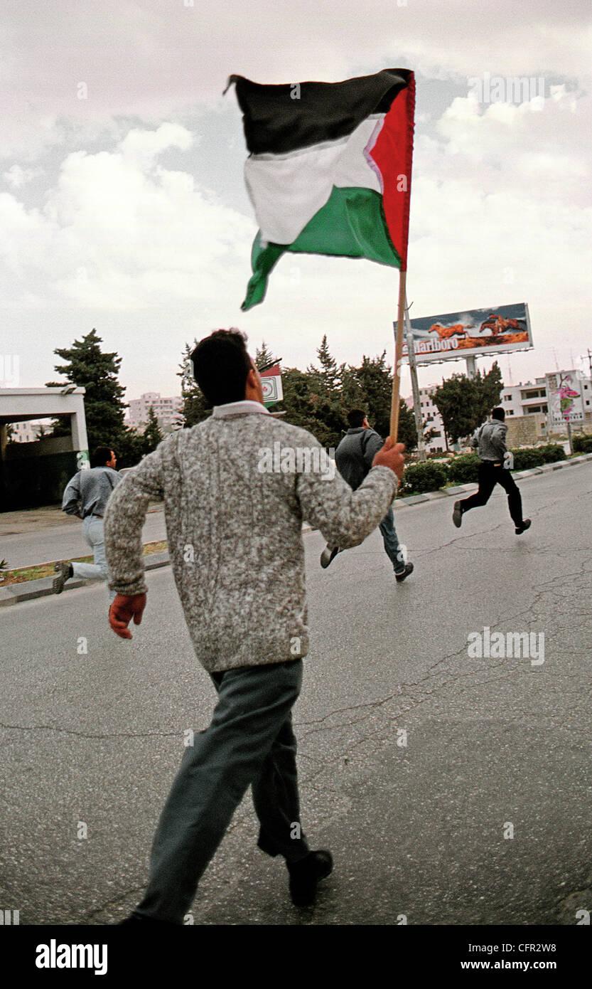 Ramalah. Cisjordania. Palestina. Imagen De Stock