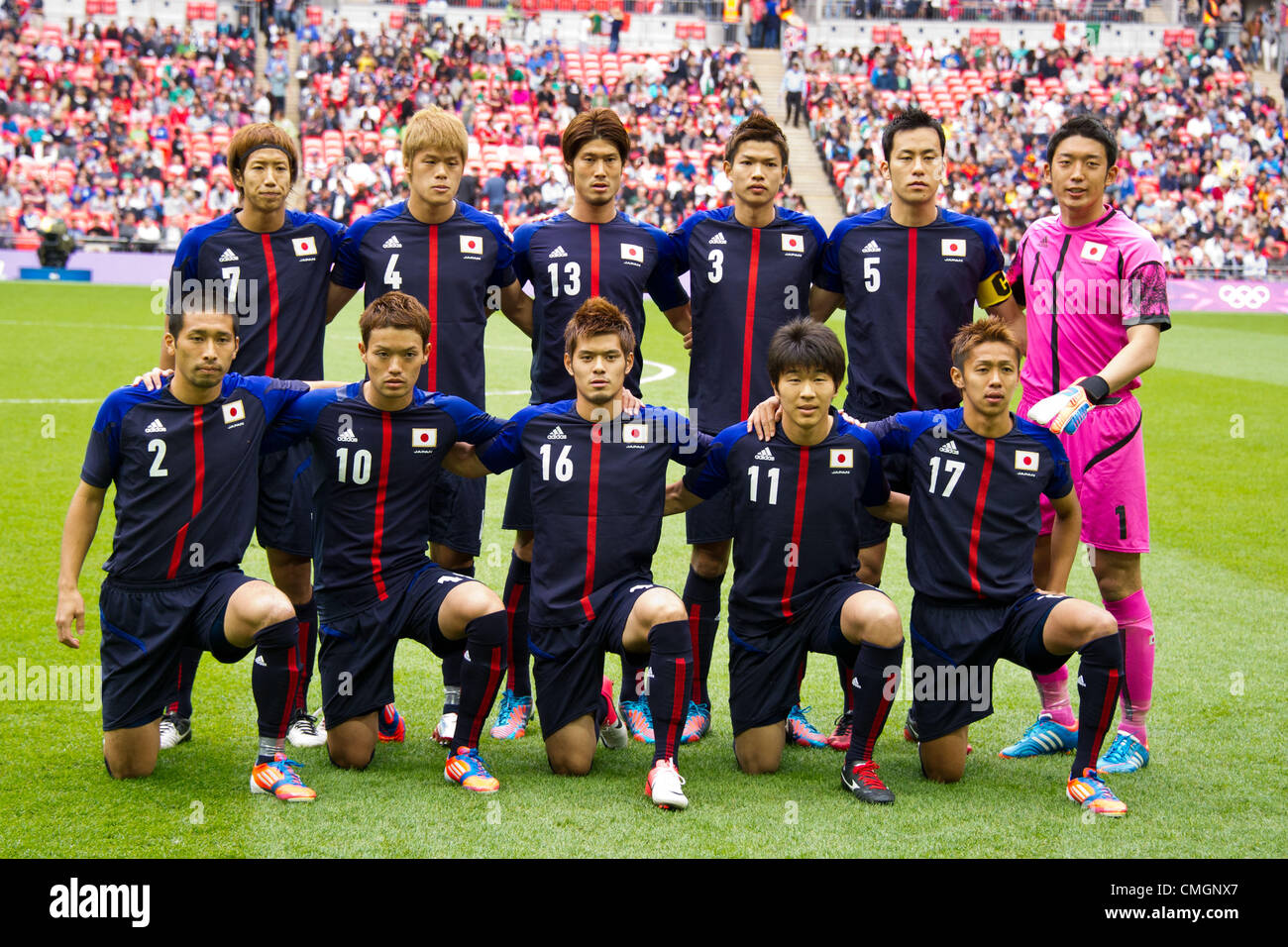 U-23U-23 Equipo Nacional de Japón grupo line-up (JPN) 078e0815db565