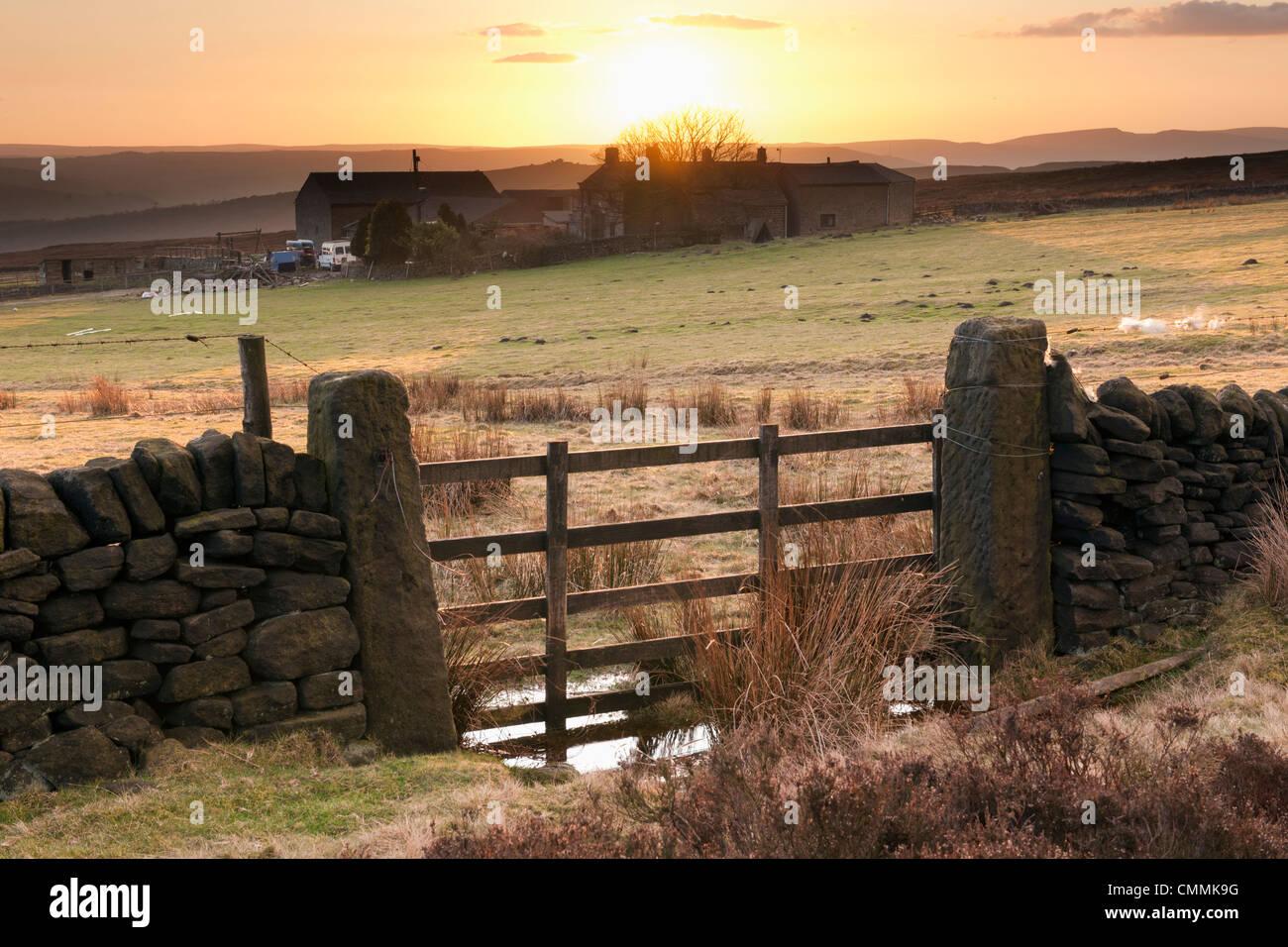 Parson House centro de ocio al aire libre en la carretera Houndkirk Derbyshire, Inglaterra Imagen De Stock