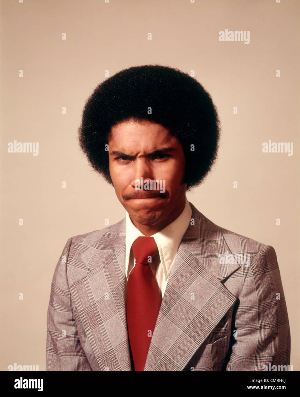 Américain Afro 1970 Clq54arj3 Homme D'affaires En Costume De txhsrdQCB
