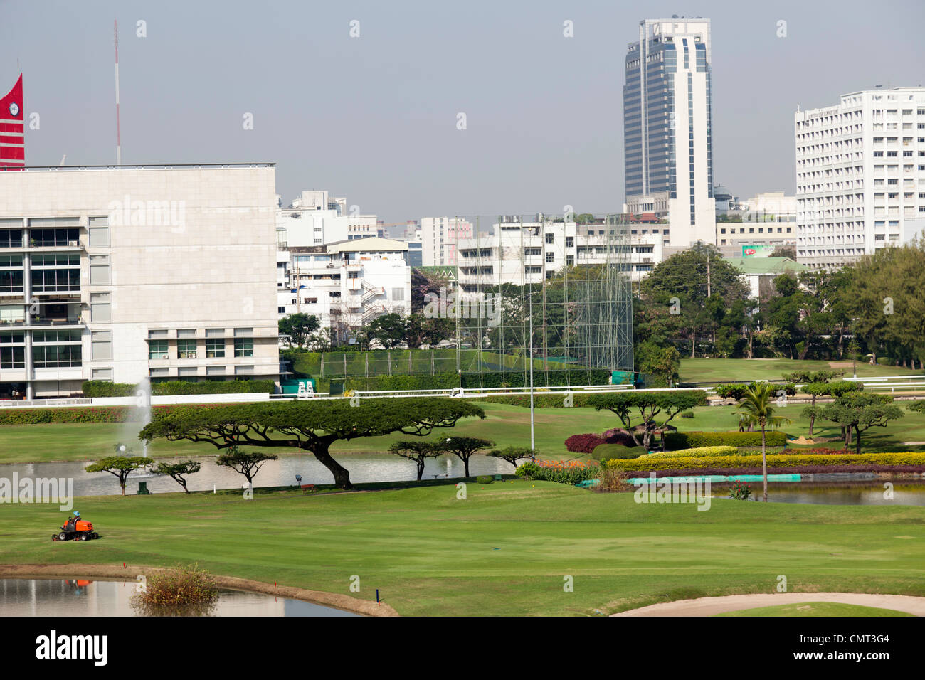 El Real Club Deportivo de Bangkok (RBSC), celebrada en Bangkok (Tailandia). Le Club des Sports de Royal Bangkok Imagen De Stock