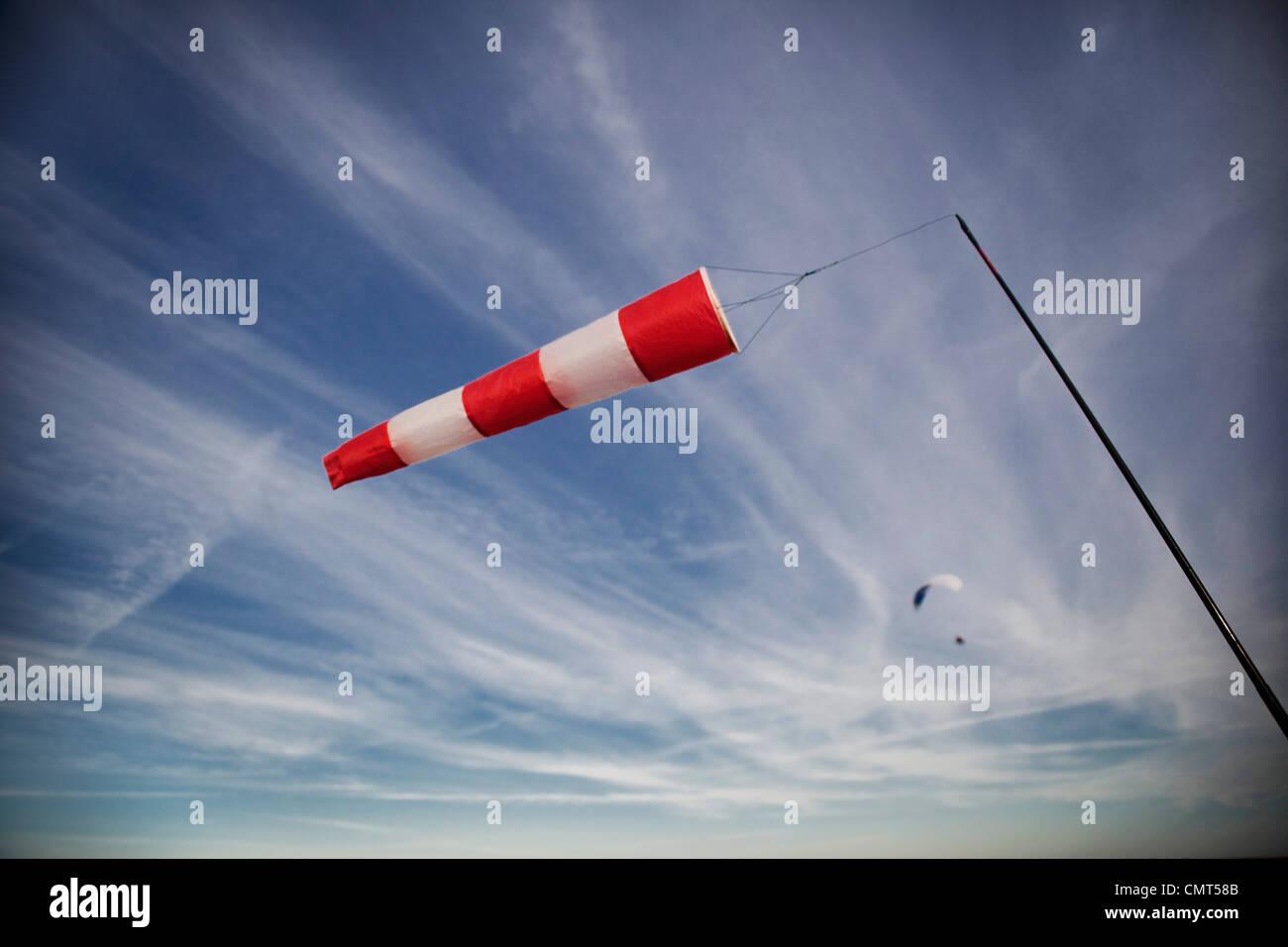 Dirección del viento Imagen De Stock