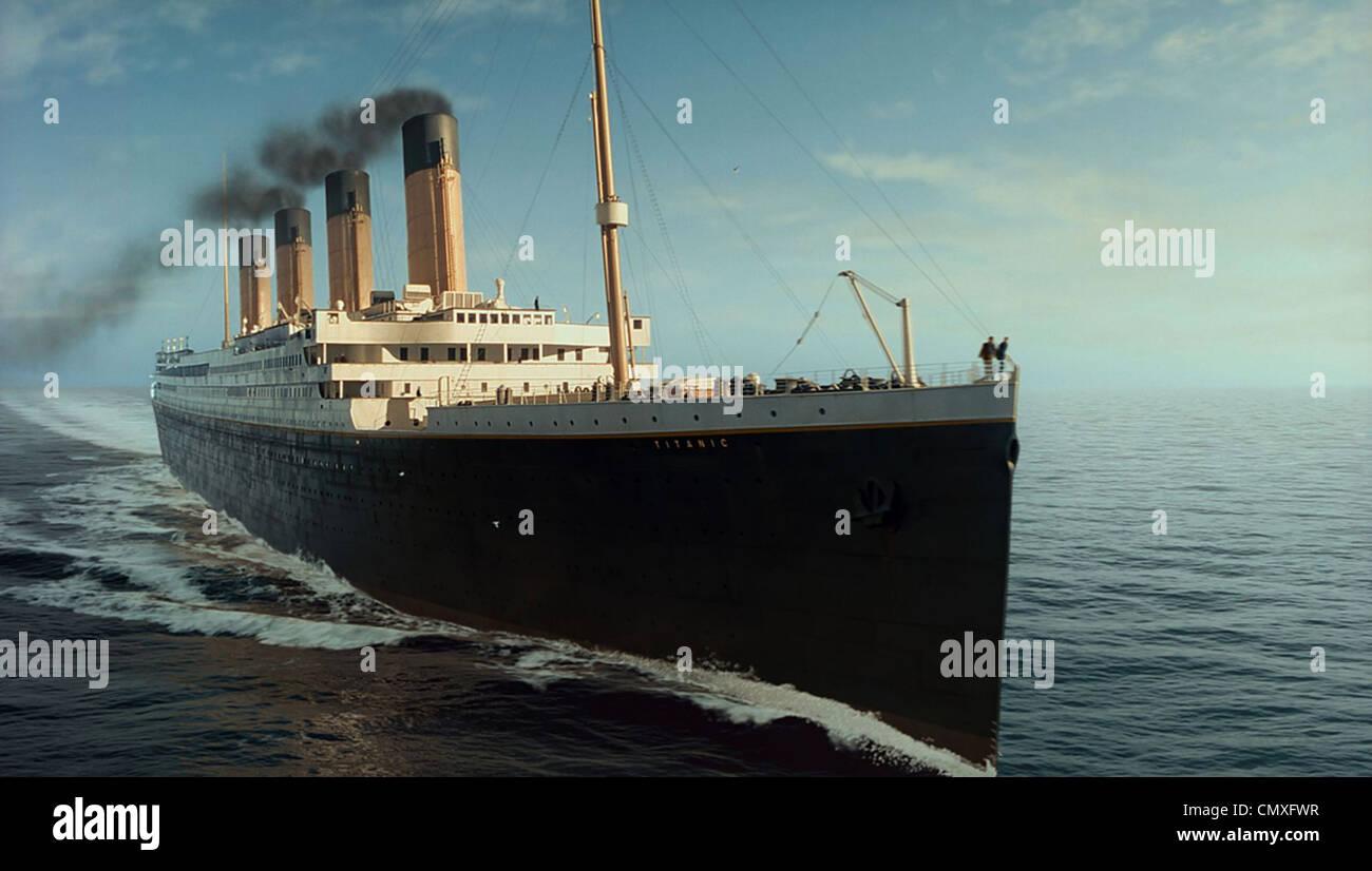 TITANIC 1997 Paramount film/TCF Imagen De Stock