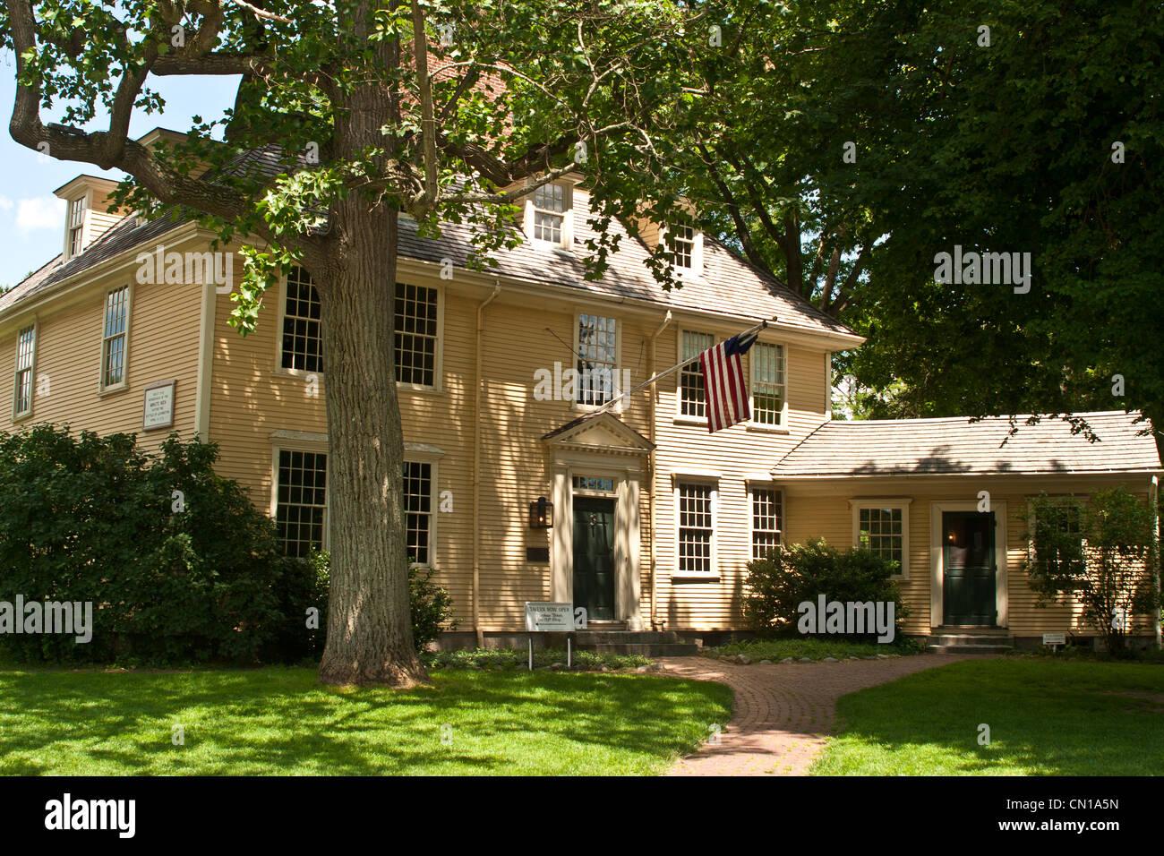 Lexington Lexington, Massachusetts, verde Foto de stock