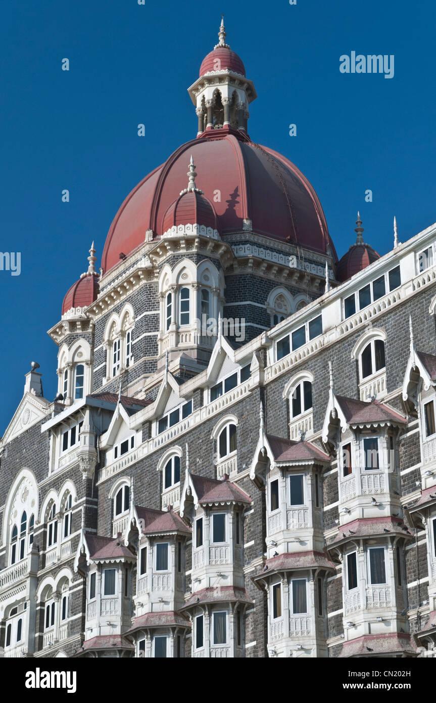 Taj Mahal Palace Hotel Colaba Mumbai Bombay India Imagen De Stock
