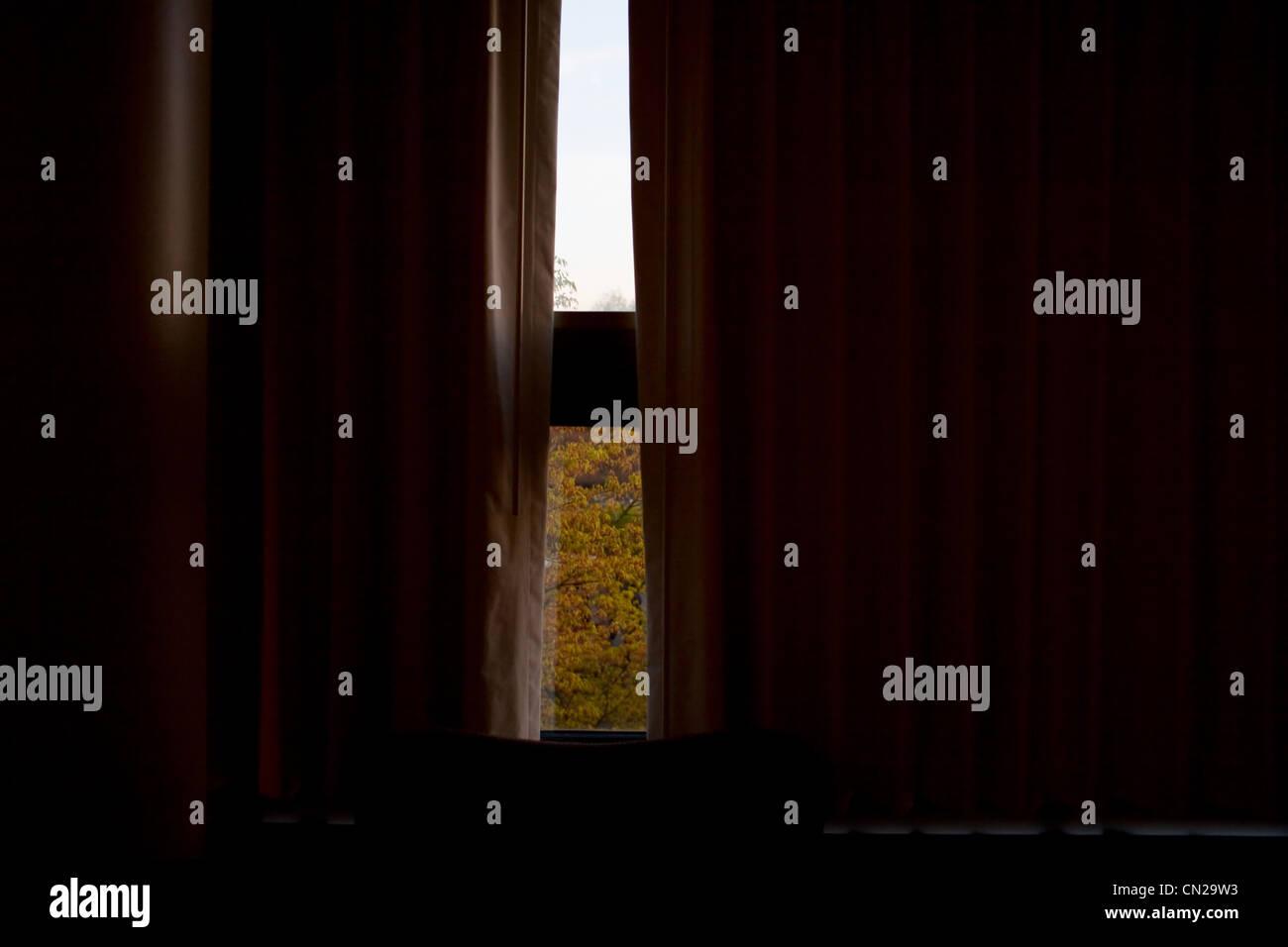 Cortinas De Ventana Fotos e Imágenes de stock Alamy