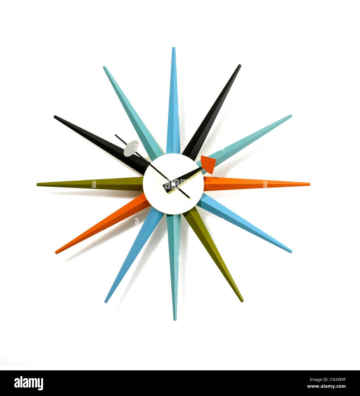 Reloj de pared Imagen De Stock