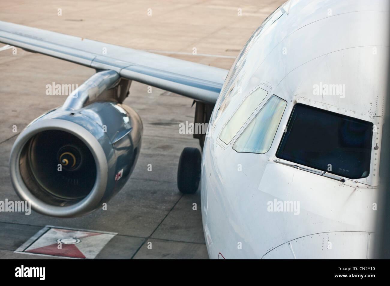 Motor de avión Imagen De Stock