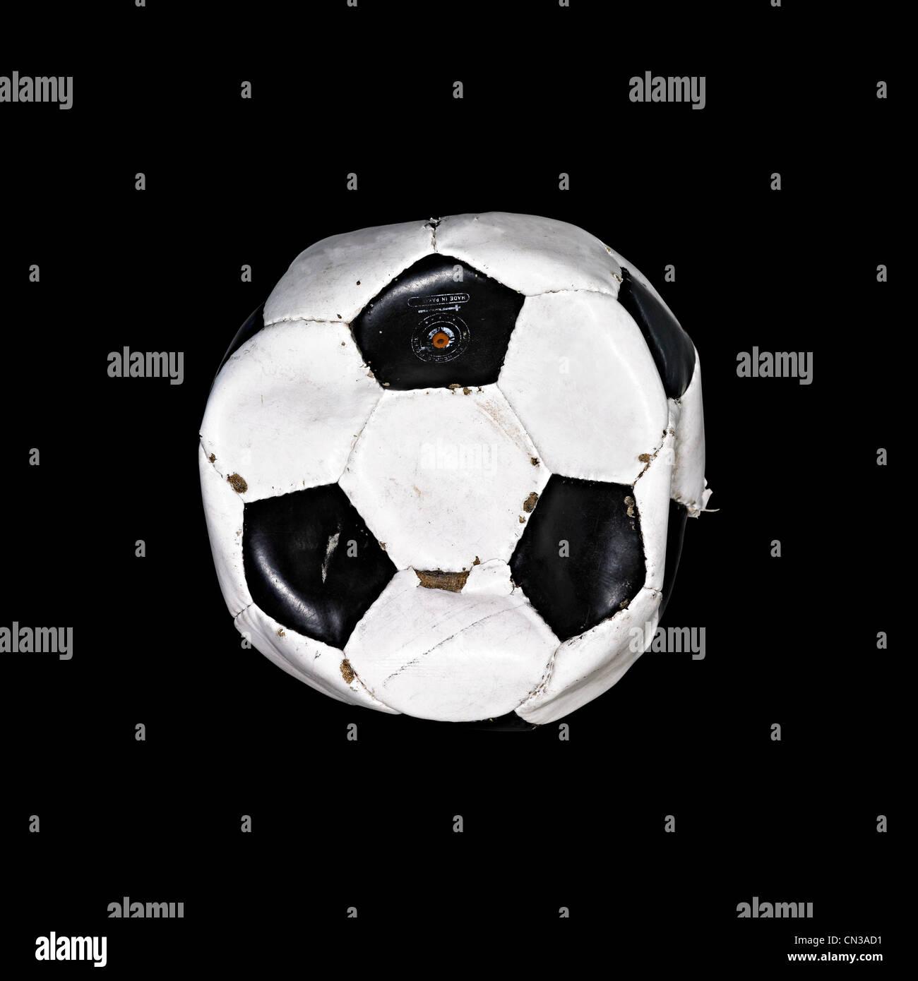 Fútbol desgastados Foto de stock