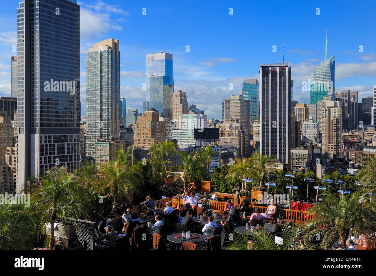 Estados Unidos Nueva York Manhattan Midtown El 230 Café