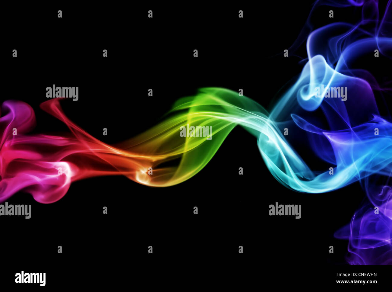 Humo de colores Imagen De Stock